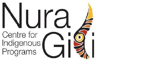 Nura Gili Special Seminar - Brad Steadman - Wednesday 30th October 2019