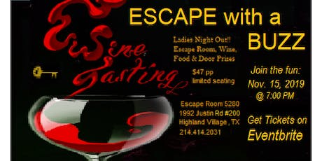 Escape with a Buzz - Escape Room and Wine Tasting  tickets
