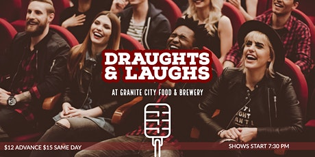 Draughts and Laughs at Granite City Brewing tickets