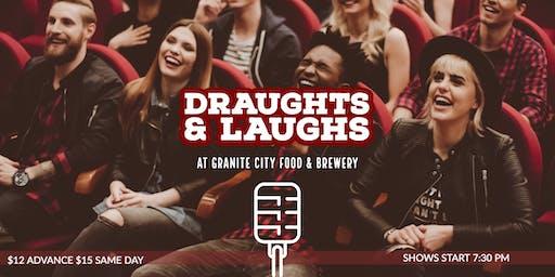 Draughts and Laughs at Granite City Brewing