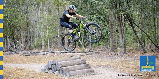 Girls and guys advanced mountain bike skills