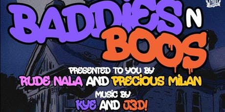BADDIES n BOOS tickets