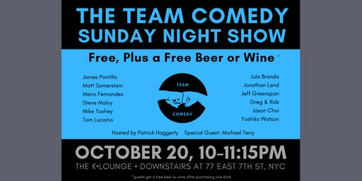 FREE Comedy Show. Plus FREE Beer or Wine After One Drink ($25 Value).