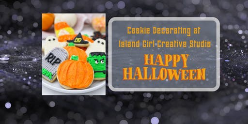 Cookie Decorating Party at Island Girl Creative St