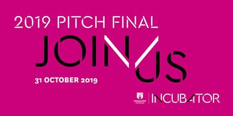 MQ Incubator Pitch Final 2019 tickets