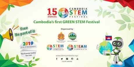 The 15th Annual Cambodia STEM Festival tickets