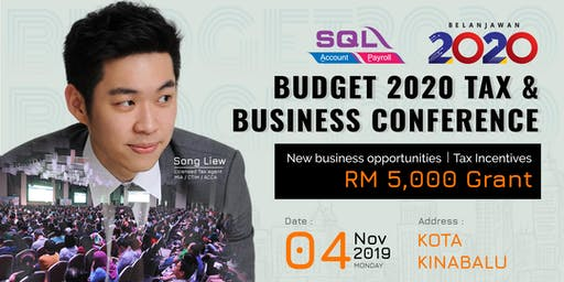 Budget 2020 Tax & Business Conference - KK @ Wisma MUIS