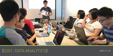 Coding for Teens - S201: Data Analytics (Ages 13 - 18) @ Bukit Timah tickets