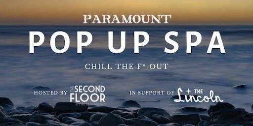Paramount Pop Up Spa