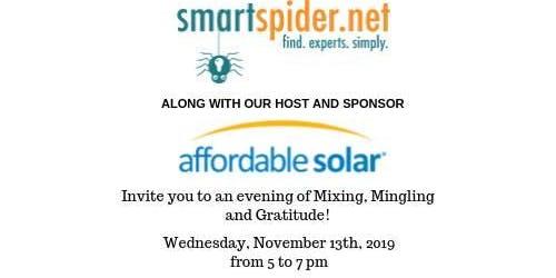 Affordable Solar - An Evening Mixer