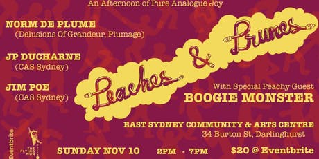 Peaches and Prunes tickets