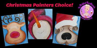 Painting Class - Christmas Painters Choice - ALL AGES - November 24, 2019*
