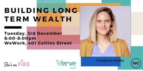 Building Long Term Wealth with CEO Christina Hobbs tickets