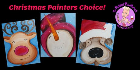Painting Class - Christmas Painters Choice - ALL AGES - December 7, 2019* tickets