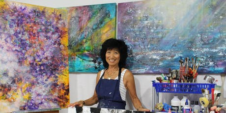 Abstract Creations - demonstration and discussion with Shirley Bleechmore tickets