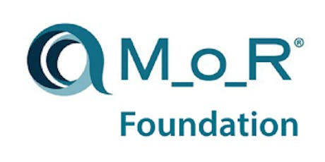 Management Of Risk Foundation (M_o_R) 2 Days Virtual Live Training in Zurich tickets