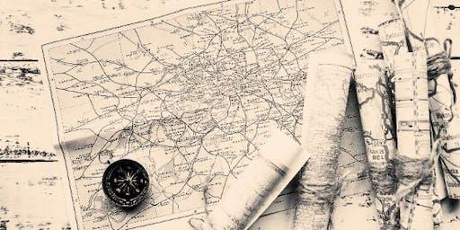 Hand-drawn Gold Mining Maps