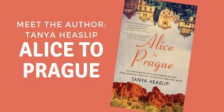 Alice to Prague: Tanya Heaslip author talk - Aldinga Library tickets
