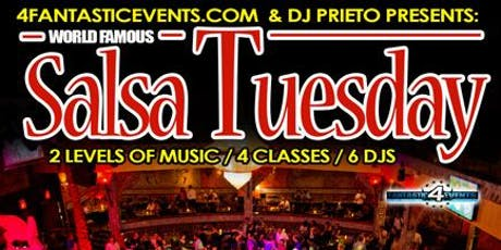 World Famous Salsa Tuesday @ Alhambra Palace tickets