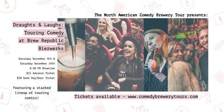 Draughts and Laughs at Brew Republic Bierworks tickets