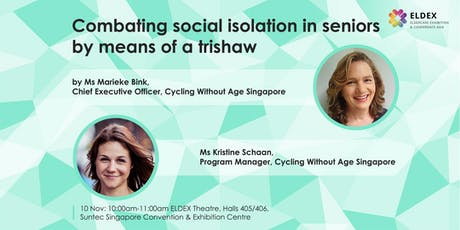 Combating Social Isolation in Seniors With  a Trishaw (ELDEX Asia 2019) tickets