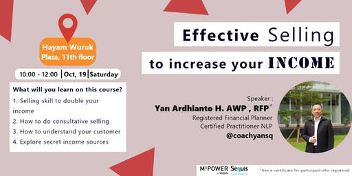 Effective Selling to Increase Your Income