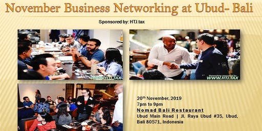 November Business Networking at Ubud- Bali