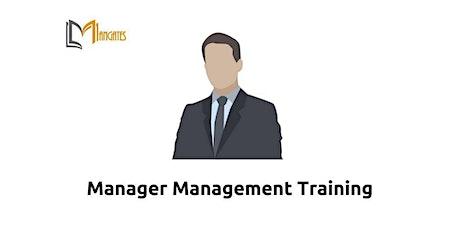 Manager Management 1 Day Training in Zurich tickets