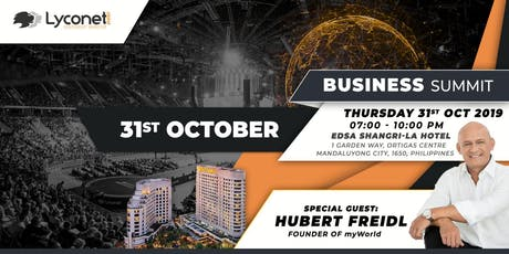 Lyconet Ph Business Summit tickets
