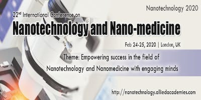 22nd International Conference on Nanotechnology and Nanomedicine