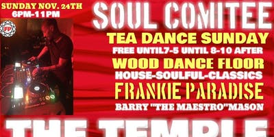 Pre Thanksgiving Event Soul Comittee Frankie Paradise