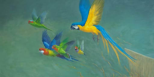 Guy Troughton : FLIGHT AND FORM     A stunning exhibition of birds in art