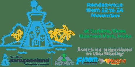 Techstars Startup Weekend Mauritius 11/19 tickets