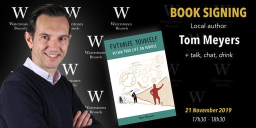 Talk and Book Signing Waterstones Brussels