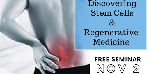 Discover Stem Cells and Regenerative Therapy 11/02