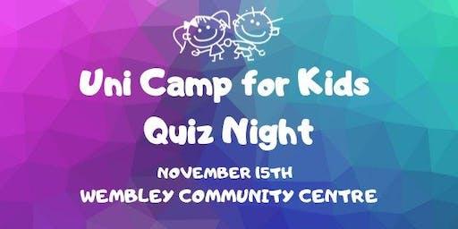 Uni Camp for Kids - Quiz Night