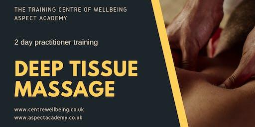 Deep Tissue Massage Practitioner Training