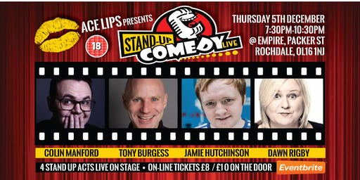 Stand-up Comedy Live @ Empire Rochdale