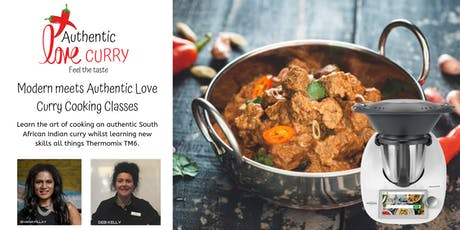 Modern meets Authentic Love Curry Cooking Class tickets