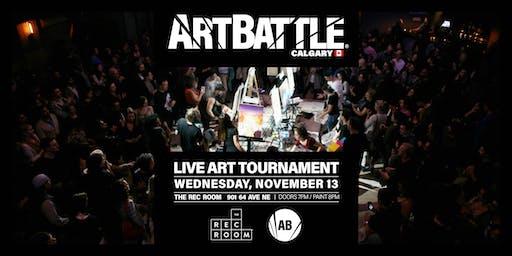 Art Battle Calgary - November 13, 2019
