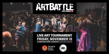 Art Battle Victoria - November 15, 2019 tickets