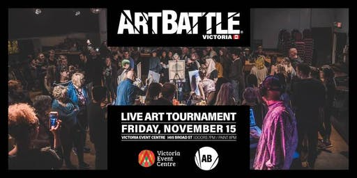 Art Battle Victoria - November 15, 2019