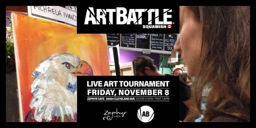 Art Battle Squamish - November 8, 2019