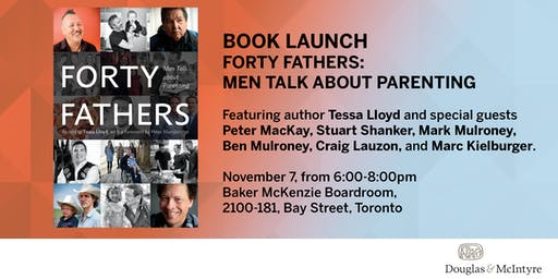 Book Launch: Forty Fathers by Tessa Lloyd
