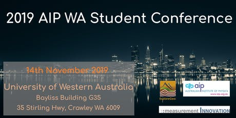 2019 AIP WA Student Conference tickets