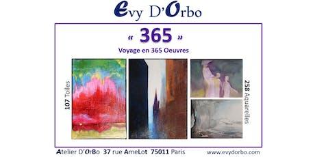 Vernissage Exposition365 | 365 oeuvres en 365 jours billets
