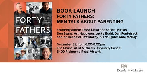 Book Launch: Forty Fathers by Tessa Lloyd (Victoria)