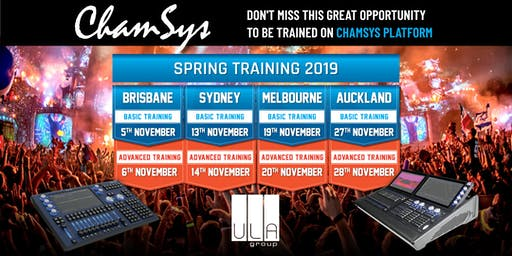 ChamSys Console Training - Brisbane