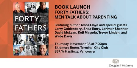 Book Launch: Forty Fathers by Tessa Lloyd (Vancouver) tickets