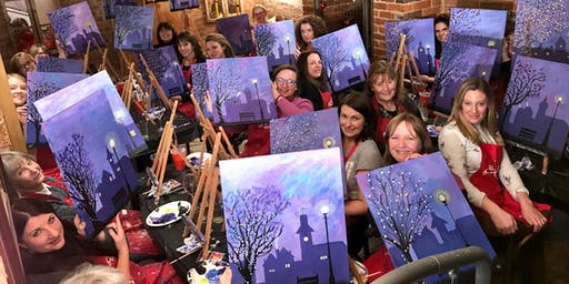 Winter Lights Brush Party - Chertsey